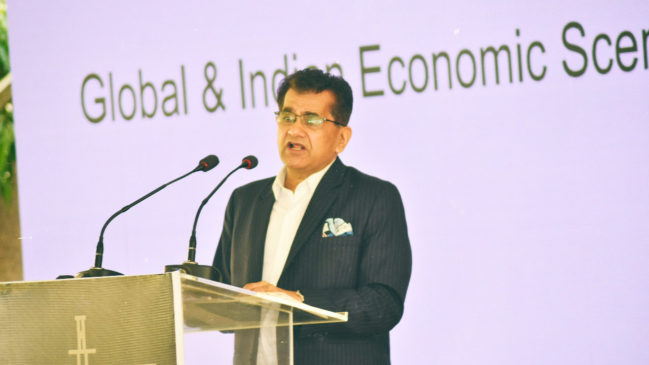 Atmanirbhar Bharat is about penetrating global markets, says Amitabh Kant - Niti Aayog CEO Amitabh Kant shares his views on sustained economic growth and how it is key to India's future…