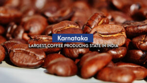 Karnataka: The largest coffee producing state in India
