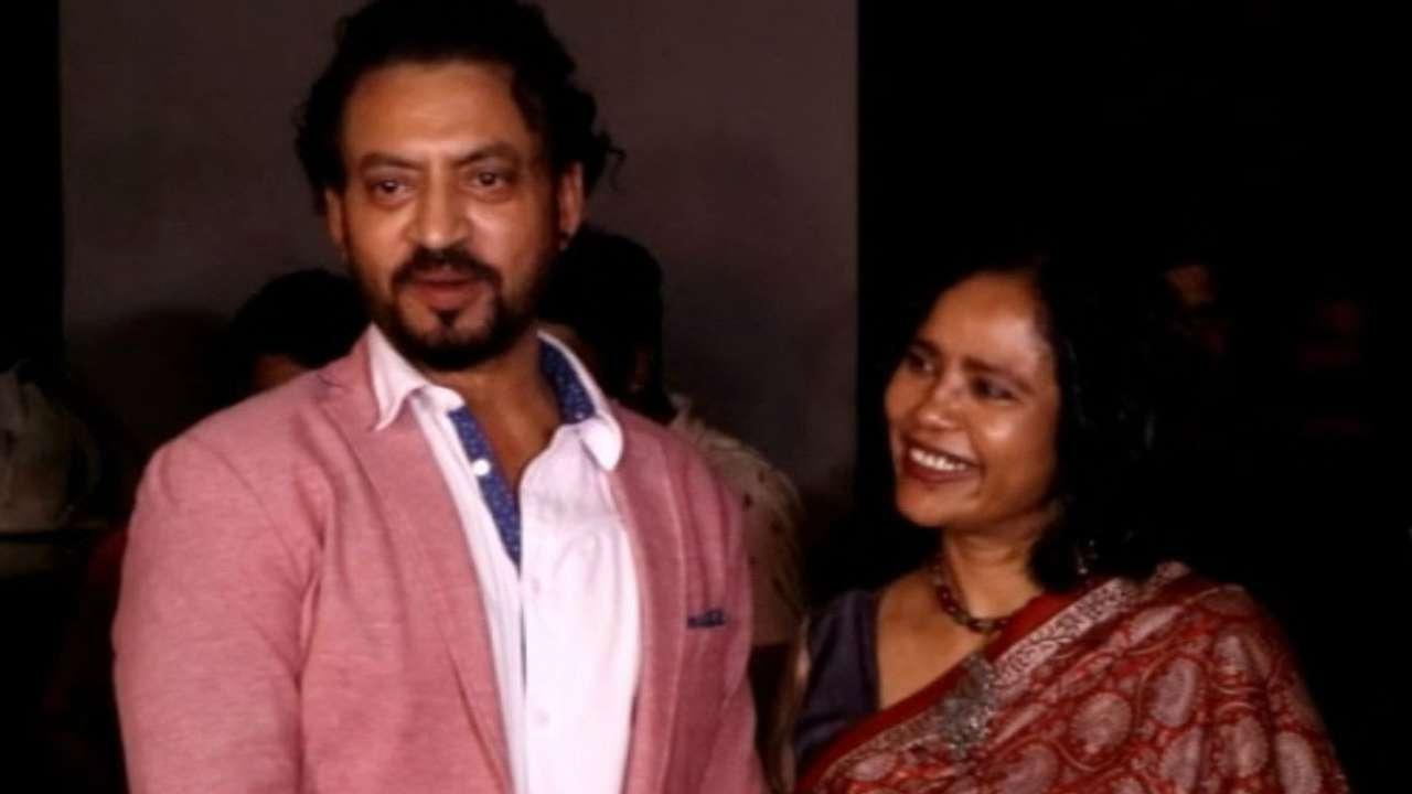 On Irrfan Khan's First Death Anniversary, his wife pens emotional lines for him. Read it here...! - Late Bollywood actor Irrfan Khan passed away on April 29, 2020 to a neuroendocrine tumour. His wife Sutapa Sikdar has penned emotional lines on his first death anniversary which shall leave one and all in tears.