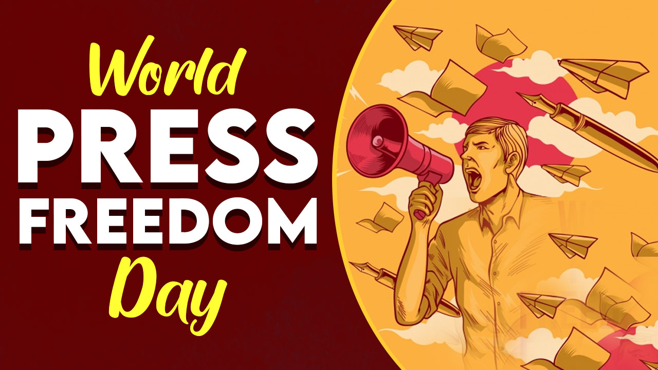 World Press Freedom Day 2021 Theme, History, Significance, Wishes Quotes, Poster, Images, Status and More - World Press Freedom Day' is celebrated each year on May 3. It is one amongst the calendar events outlined, organised and promoted by the United Nations