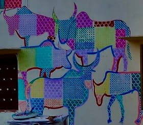 World's largest open art gallery coming up in Rajasthan's Mandava! Look at its pictures here... - Rajasthan will soon accommodate one of the world's largest open modern art galleries, the Mandawa Art Village, which will bespeak the stories of desert, beautiful 'havelis', colourful dresses, camels, sands and much more.