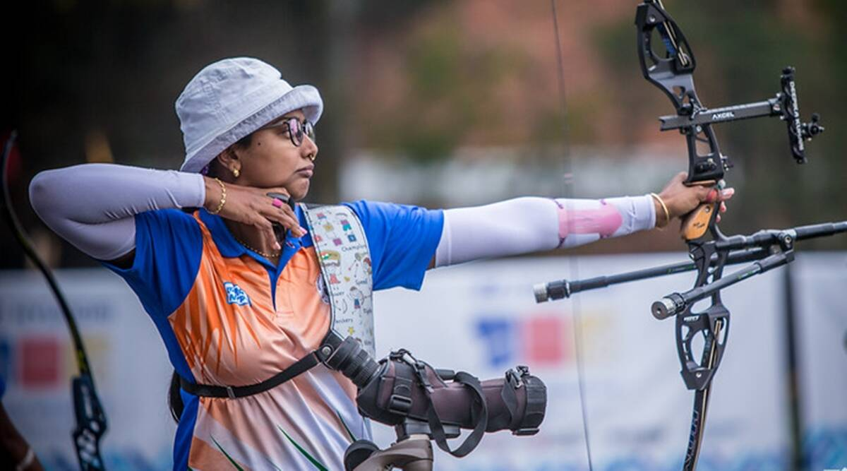 Deepika Kumari steals the show in Archery World Cup held in Paris. Know her age, achievements, husband, performance in the Olympics - Indian archer Deepika Kumari won three medals in the Archery World Cup Stage 3 being held in Paris this year and will be the only woman participant in Archery representing India in Olympics 2020 to be held in Tokyo.
