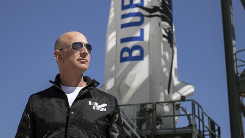Jeff Bezos & crew return to Earth with historic first human flight to space - Jeff Bezos, the Billionaire, rocketed into space on the first crewed flight of the New Shepard spacecraft built by his company Blue Origin.